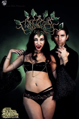 Halloween Shoot with Russian Model Irina Avdonicheva and Alexander Rea Photographer: Hannah Roller