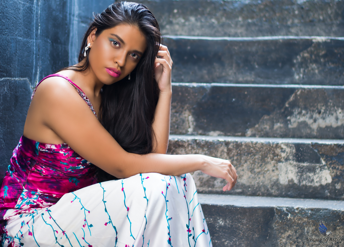 A shot of the glorious model Leslie Reza inside the magazine of Fort Pickens, Pensacola, Florida. Photographed by Alexander Rea of Inspire to Aspire